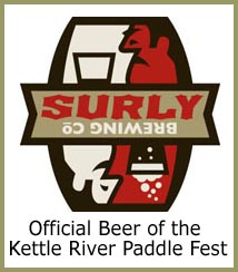 sulry, official beer of the paddle fest